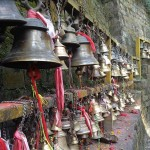 campane al Tempio di Dakshinkali (Nepal)