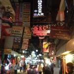 Thamel di notte (Kathmandu, Nepal)