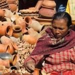al mercato di Asan Tole (Kathmandu, Nepal)