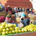 al mercato di Durbar Square (Kathmandu, Nepal)