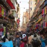 sulla via per Asan Tole (Kathmandu, Nepal)