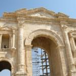 Arco di Adriano (Jerash, Giordania)