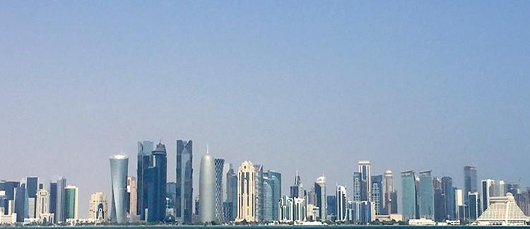 skyline dalla Corniche (Doha, Qatar)