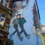 percorso murales fumetti Bruxelles