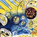 East Side Gallery Berlin - Indiano - Die Geburt des Kachinas