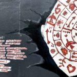 East Side Gallery Berlin - Irina Dubrovskaja - Die Wand muss weichen, wenn der Meteorit der Liebe kommt