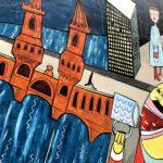 East Side Gallery Berlin - Jim Avignon - Doin It Cool For The East Side (2013 neu bemalt)