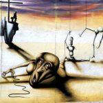 East Side Gallery Berlin - Marc Engel - Marionetten eines abgesetzten Stücks