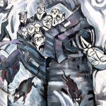 East Side Gallery Berlin - Ulrike Zott - ohne Titel